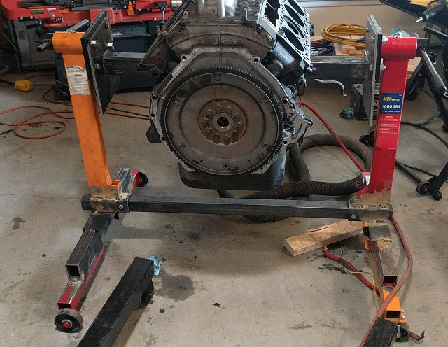 6 0l Engine Stands Lifts Plates And Techniques Ford Truck